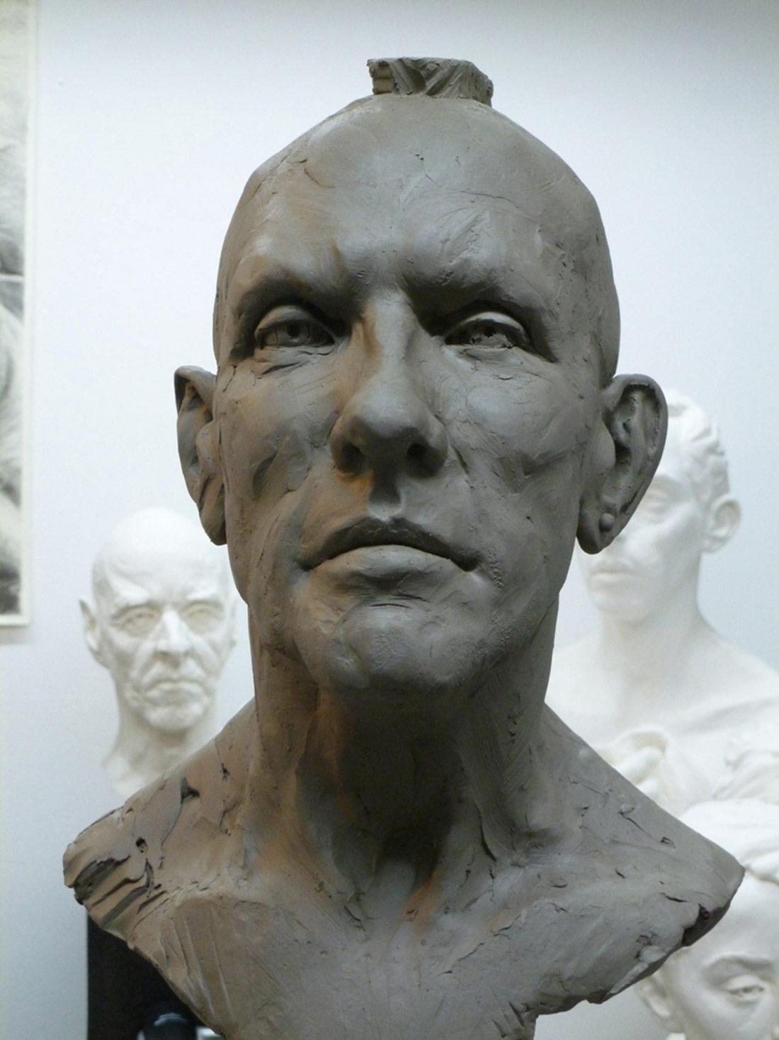 portrait sculture