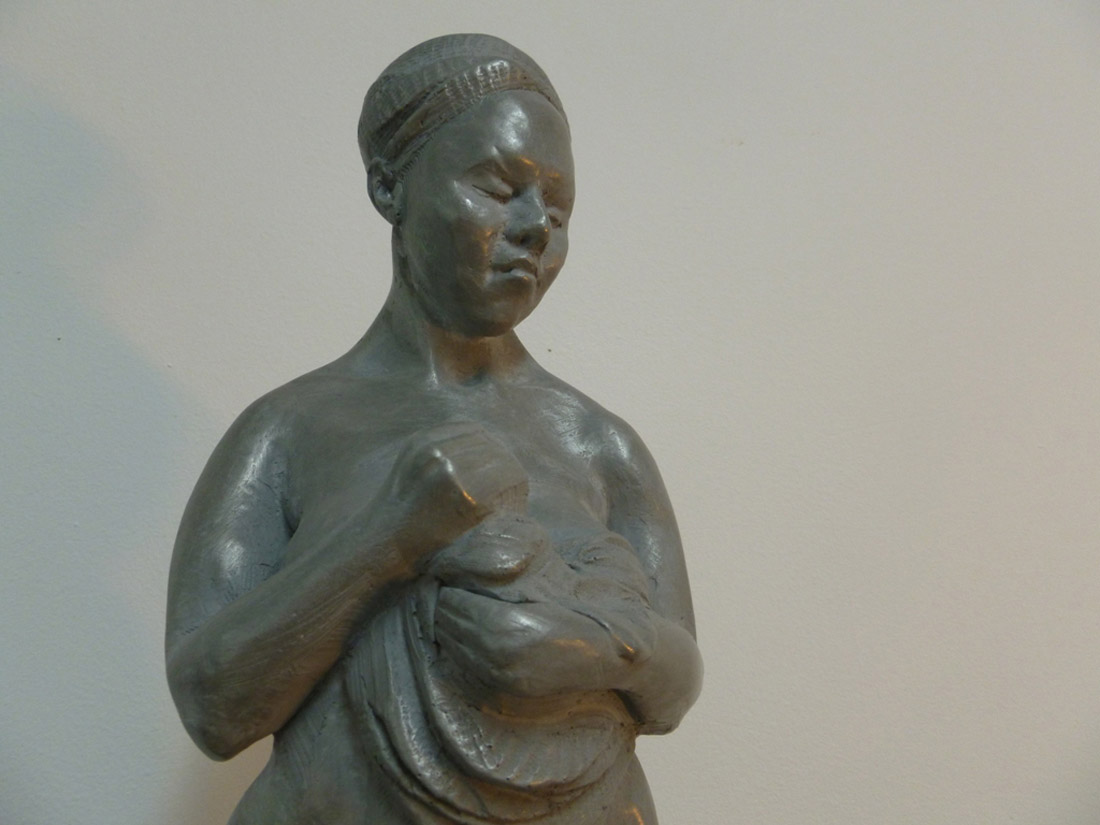 gather portrait sculptor
