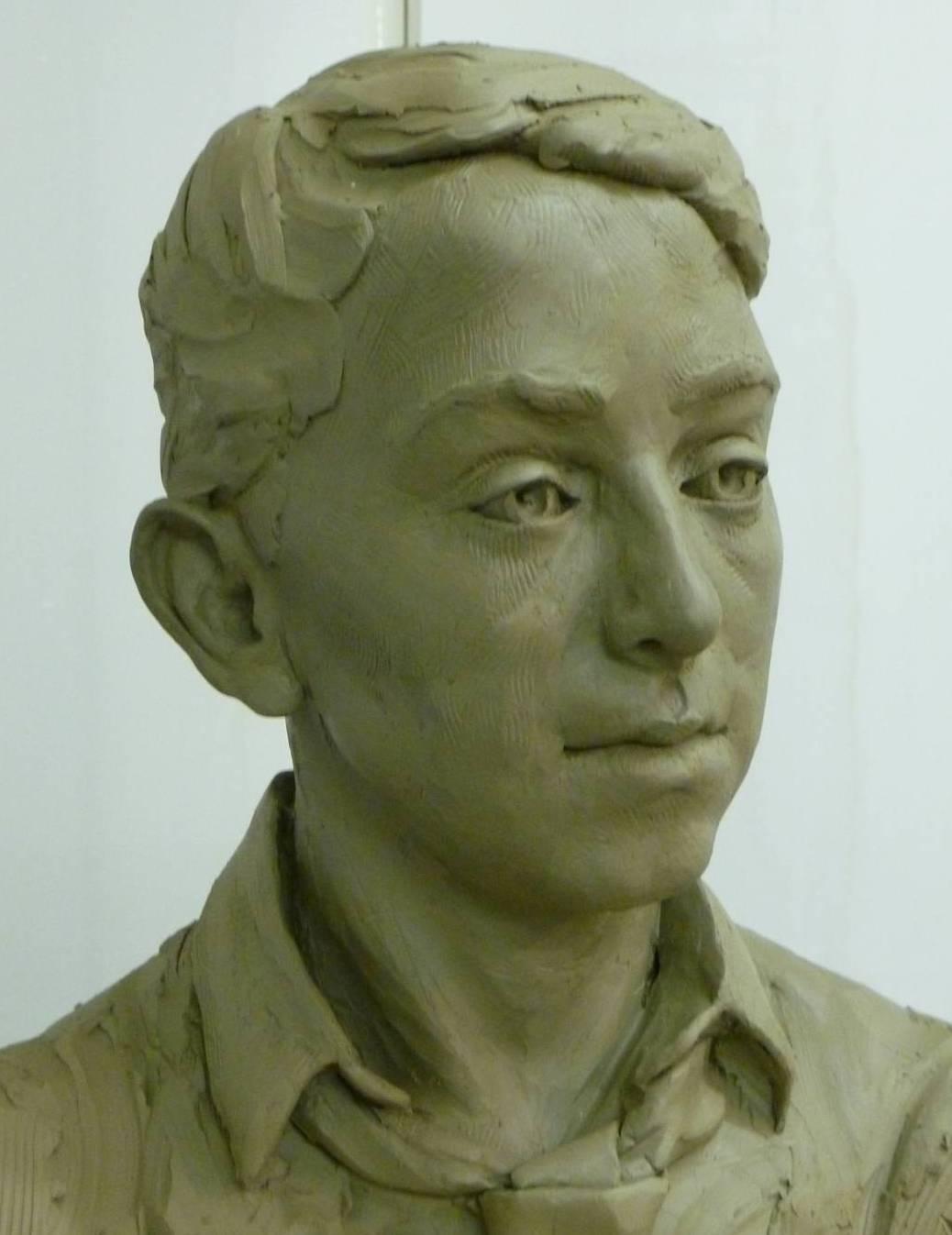 jesse portrait sculptor whitstable