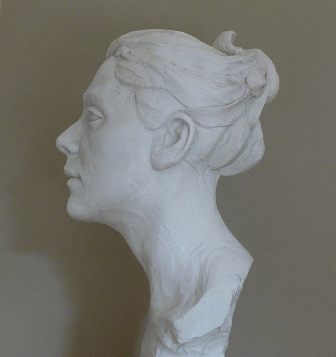 Clementine Jesmonite from clay original 2015 2