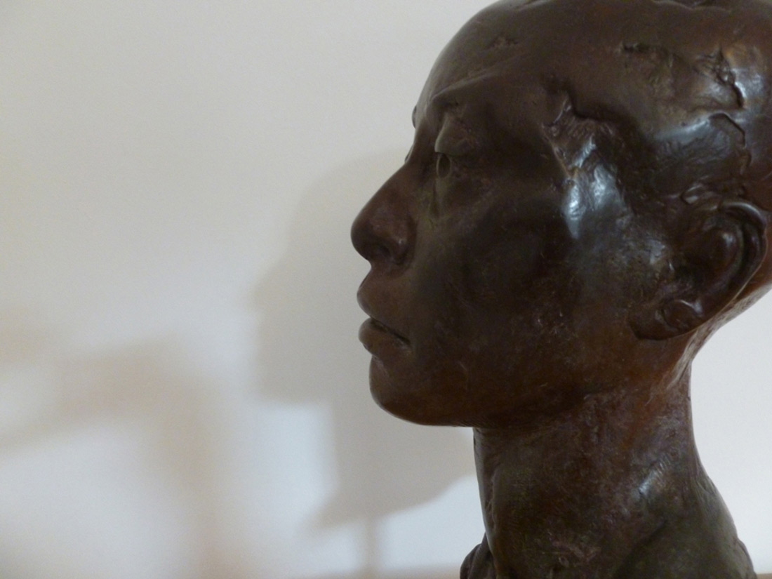 Pauline bronze from plaster cast of clay original 2015