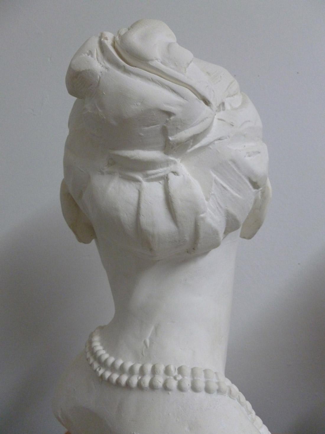 Theodora-plaster from clay original 2014