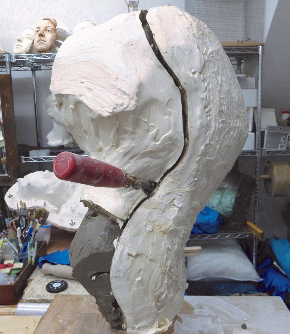 portrait sculpture making kent