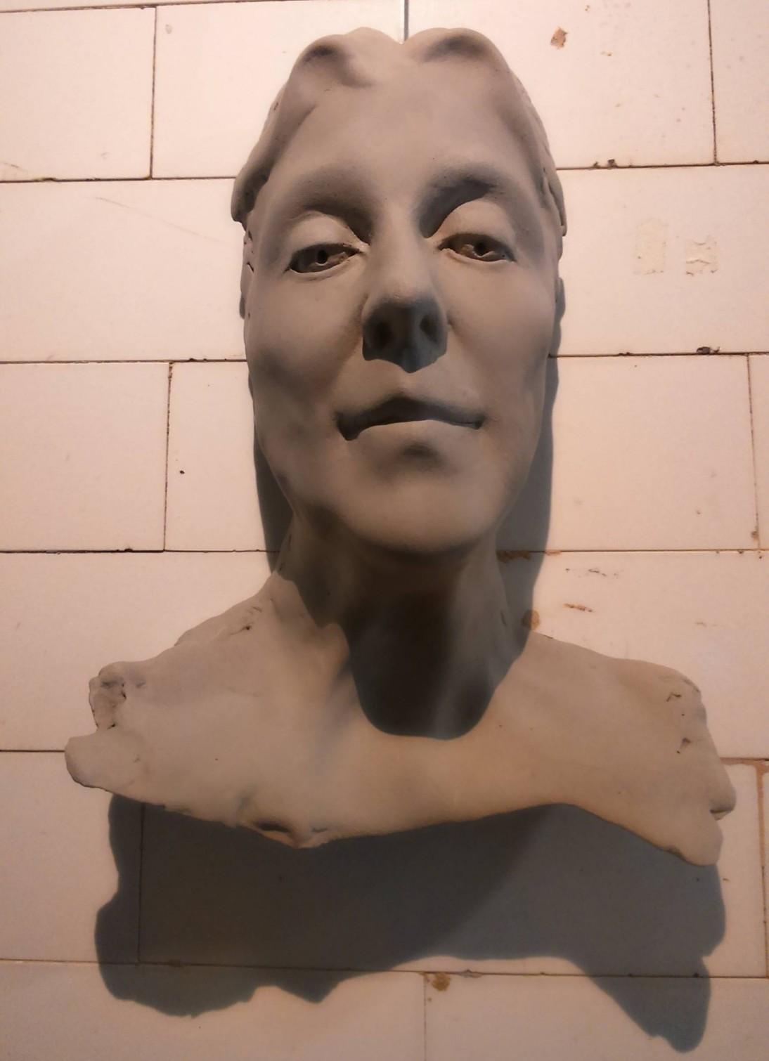 slip-cast clay